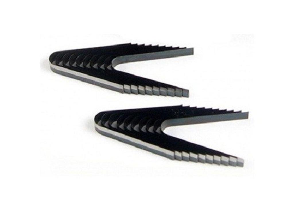 Náhradní prořezávací nože R1, zaoblené, šířka 3 - 4 mm, balení 20 kusů