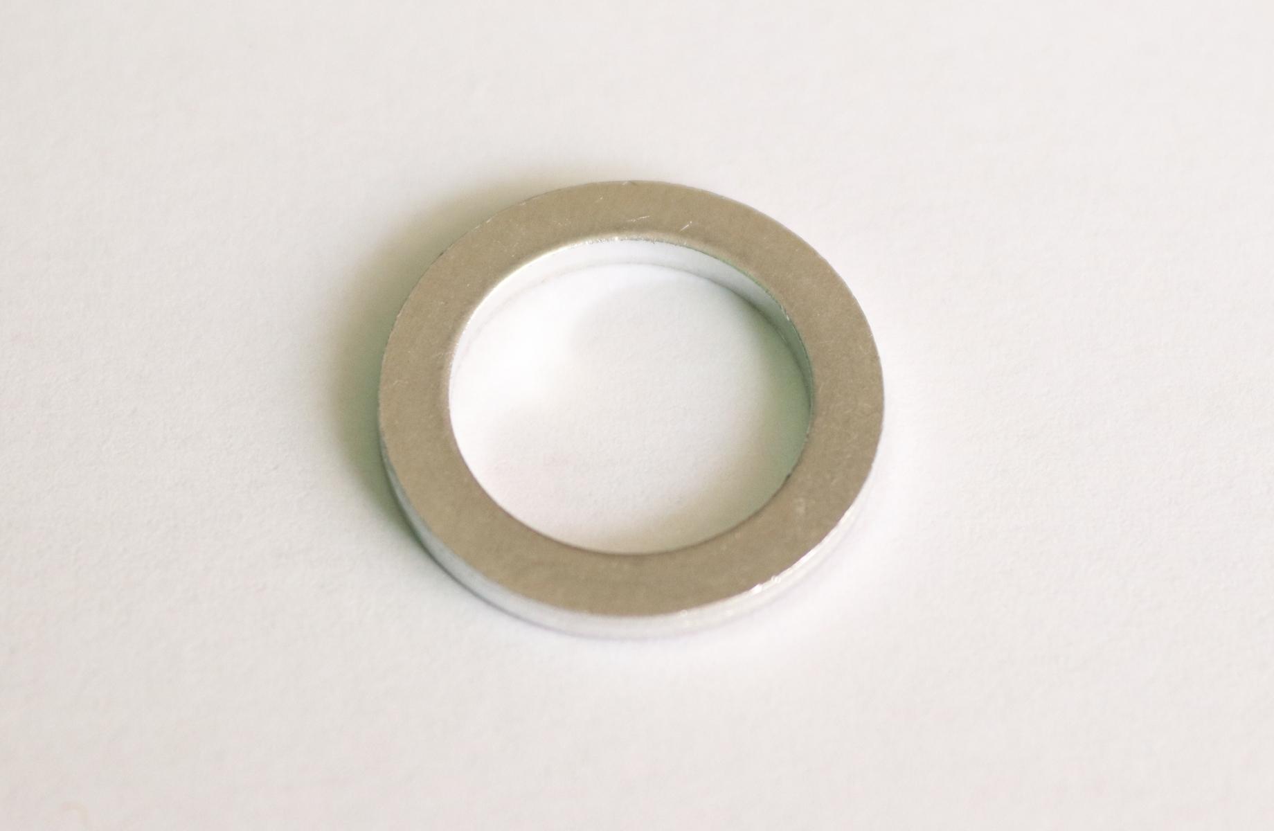 Těsnicí kroužek hliníkový, průměr 14/20 mm, tloušťka 2 mm, pro Hyundai a KIA