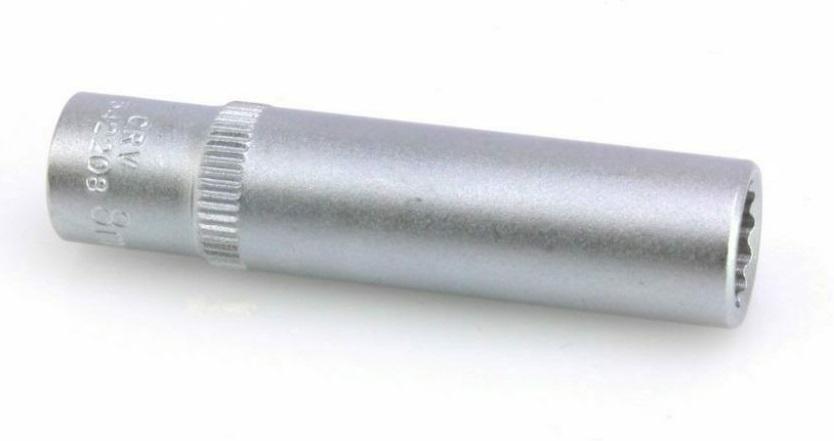 """Hlavice nástrčná 1/4"""" 6 mm, 12hranná, prodloužená 50 mm - ASTA"""