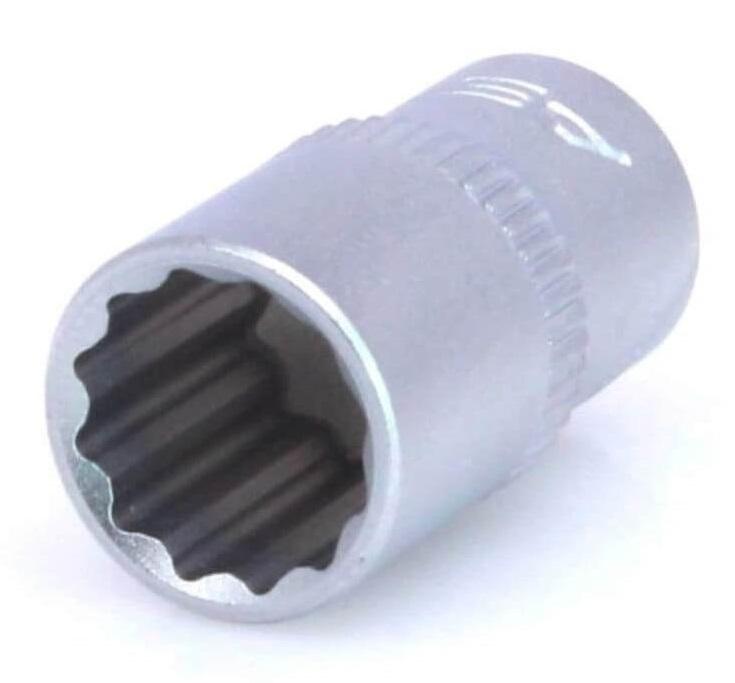 """Hlavice nástrčná 1/4"""" 4 mm, 12hranná - ASTA"""