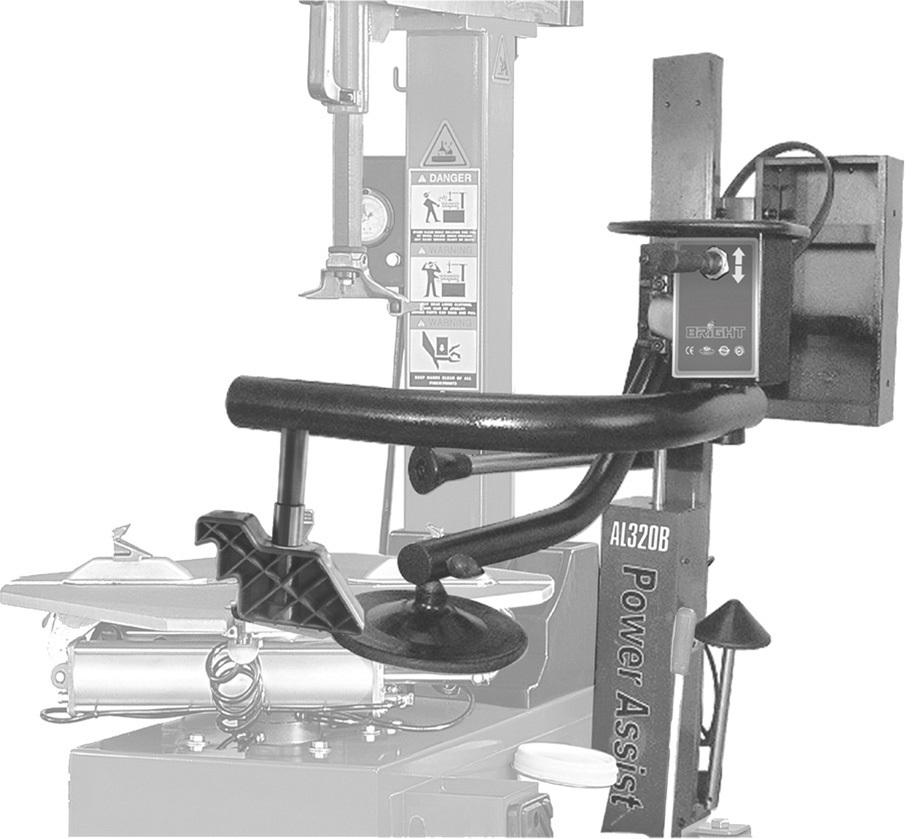 Helper AL320C, k zouvačce LC889, pro montáž nízkoprofilových a Run Flat pneumatik
