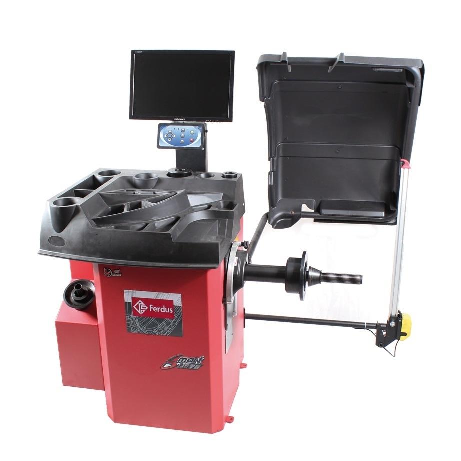 """Vyvažovačka automobilových kol CB76 Automat 3D, 10""""-28"""", se zastavováním a laserem"""