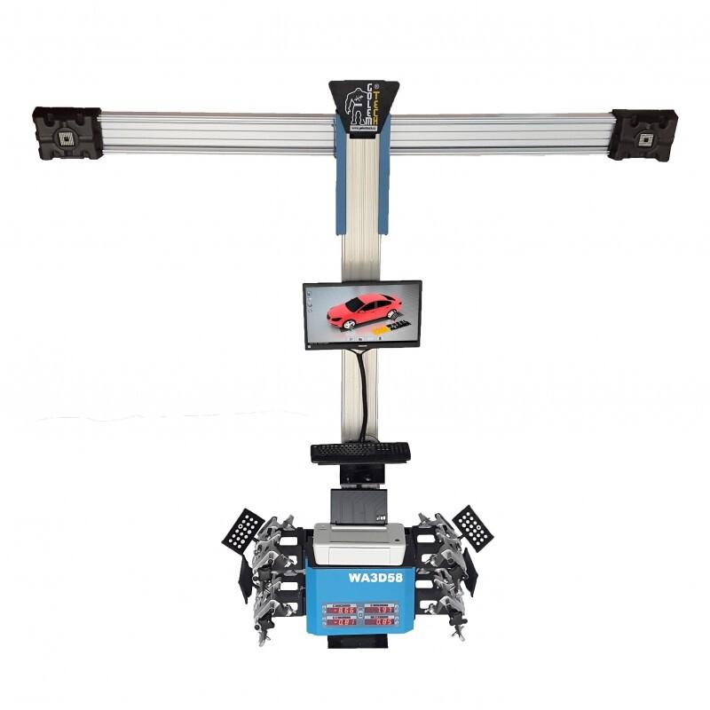 3D Geometrie podvozků, elektronické automatické sledování terčů - Golemtech