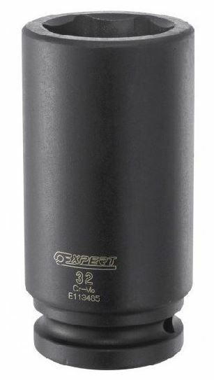 """Hlavice 3/4"""" průmyslová prodloužená 6hranná, 27 mm - Tona Expert E113483T"""