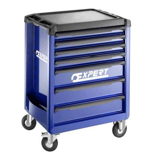 7 zásuvková montážní skříň - 3 moduly na zásuvku; 61,5kg - Tona Expert E010193