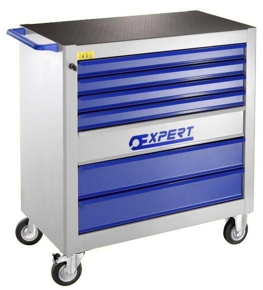 7 zásuvková montážní skříň XXL - 4 moduly na zásuvku; 95kg- Tona Expert E010101