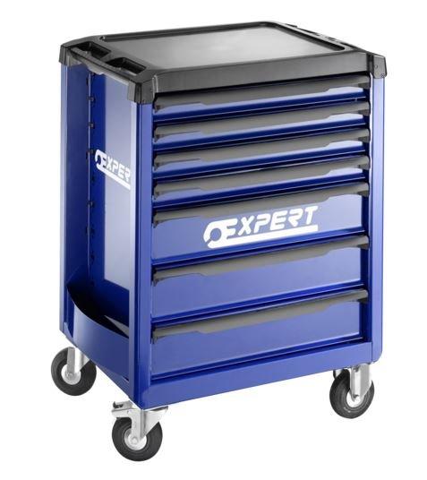 7zásuvková montážní skříň - 3 moduly na zásuvku; 67,0kg - Tona Expert E010194
