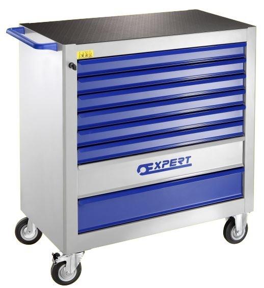 8 zásuvková montážní skříň XXL- 4 moduly na zásuvku;95kg - Tona Expert E010131