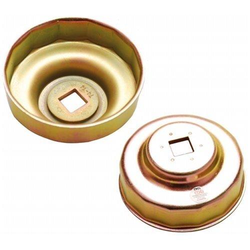 Hlavice na povolování olejových filtrů 74 mm, 14hranná, BMW, VW - BGS 1043