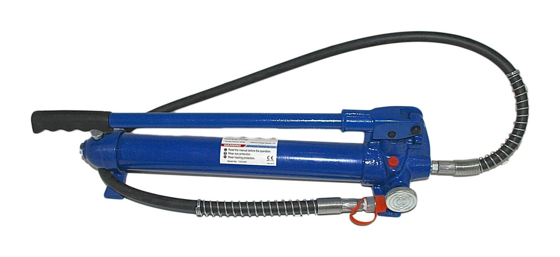 Pumpa hydraulická ruční, 10 tun, pro hydraulický roztahovák a lis - ASTA
