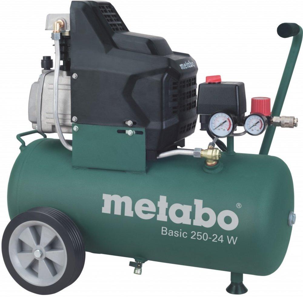 Olejový vzduchový kompresor Basic 250-24W - METABO 601533000