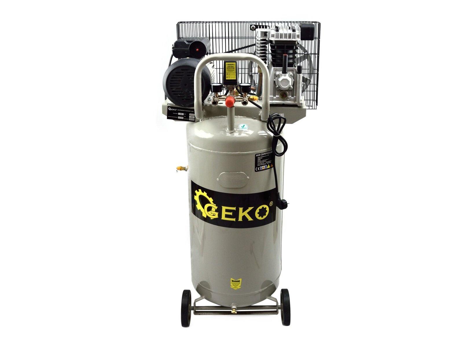 Olejový vzduchový kompresor jednoválcový, vertikální, 100 l, 230V