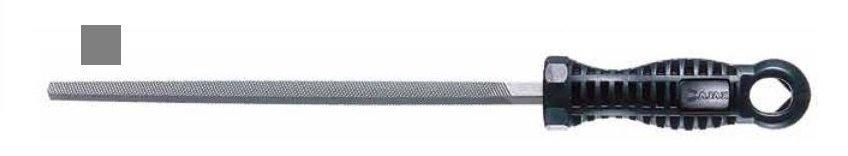 Pilník dílenský čtyřhranný 8x8 PZC200/3 - AJAX