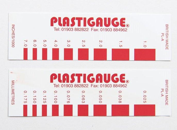 Plastigage 0,025-0,175 mm