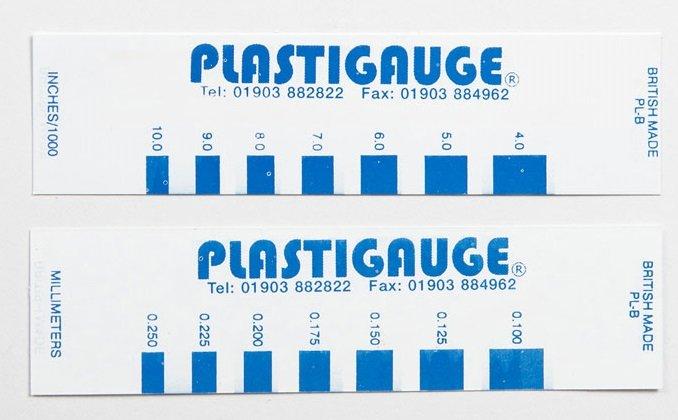 Plastigage 0,1-0,25 mm
