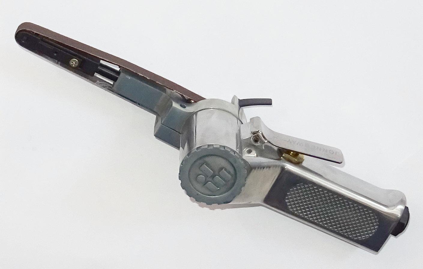 Pneumatická pásová bruska, úzký pás 10mm - JONNESWAY JAS-6543