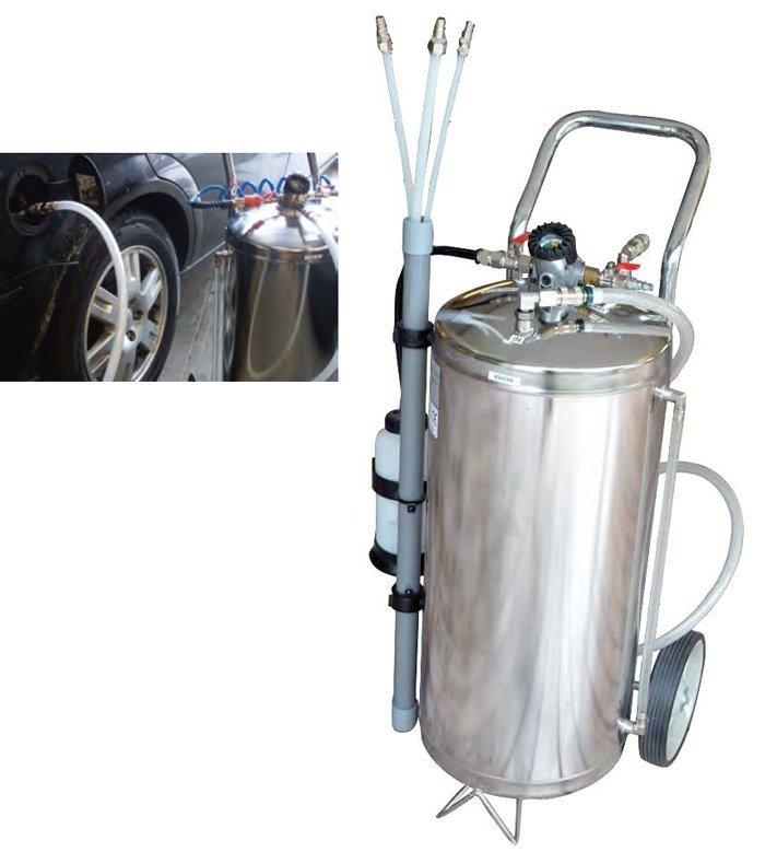 Pneumatický přístroj pro odčerpávání paliva z nádrží Fuel Extractor HU46005