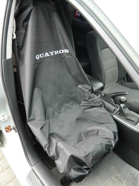 Pracovní potah předních sedadel, nylonový - QUATROS QS14473