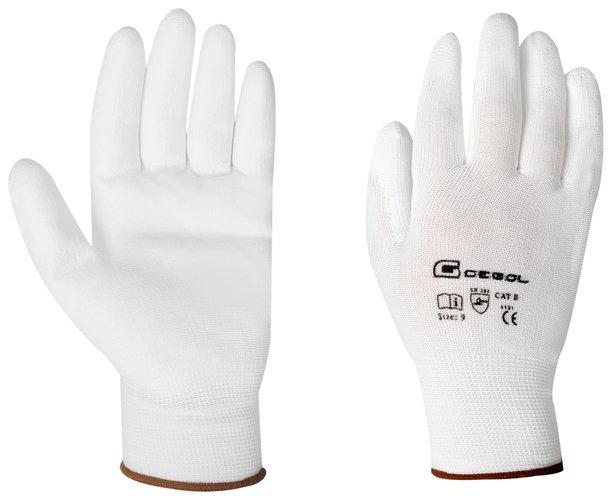 Pracovní rukavice MICRO FLEX, nylonové, velikost 7