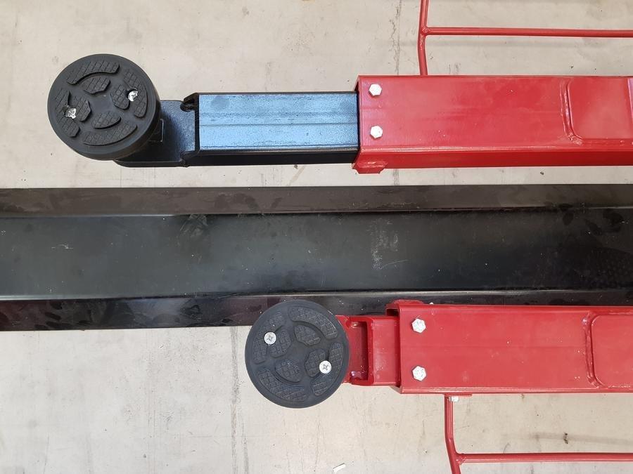 Prodlužovací segmenty do ramen sloupových zvedáků SF, sada 2 kusy