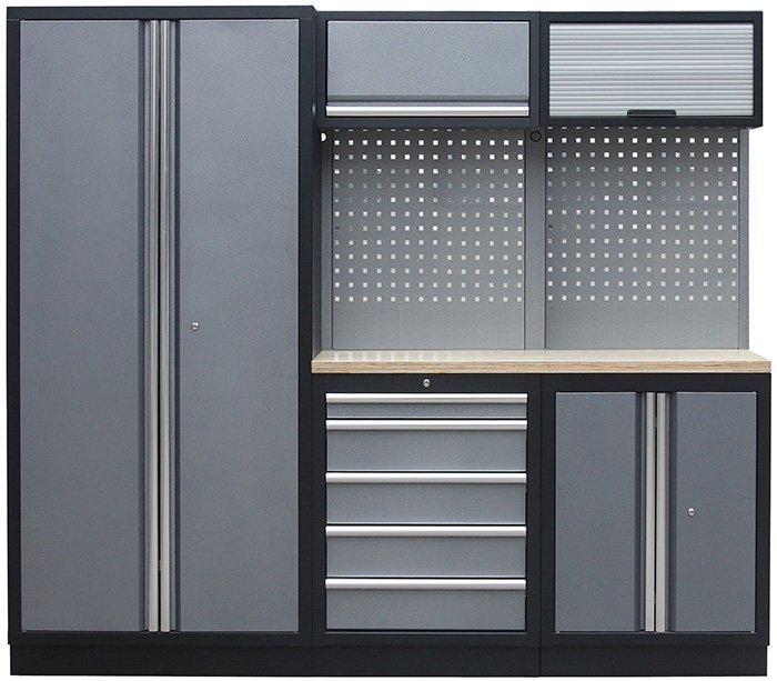 Sestava kovového dílenského nábytku PROFI PRESTIGE COMBI 1 - Genborx