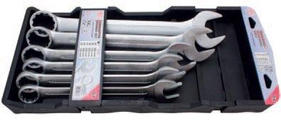 Klíče očkoploché 34-50mm, XXL (6ks)- BGS 32400