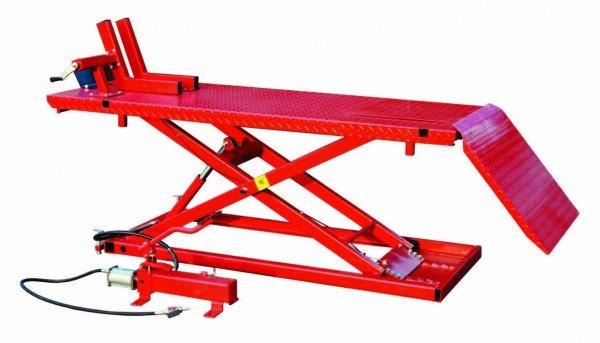 Nůžkový hydraulicko-pneumatický zvedák pro motocykly i čtyřkolky ATV- SD1008A
