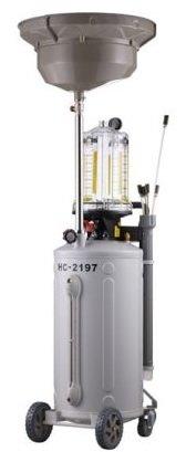 Pojizdná olejová jímka s odsávačkou 80L a odměrným válcem HC-2197