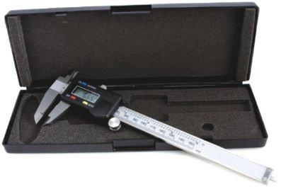 Elektronické posuvné měřidlo (tzv. šuplera), 0-150 mm x 0,01 mm - QUATROS QS15506