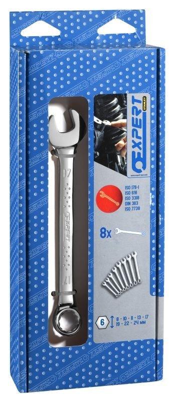 Sada očkoplochých klíčů 8 dílů Tona Expert E110300T