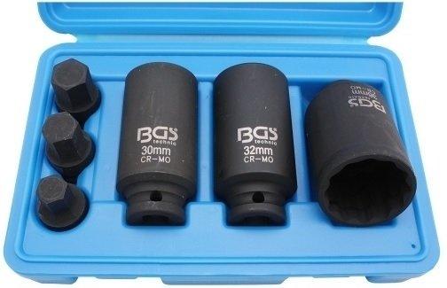 """Hlavice 1/2"""" pro náhonové hřídele 6ks- BGS 5334"""