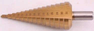 Vrták kónický HSS 4,0 - 32,0 mm- BGS 1619