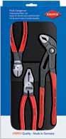 Sada silových kleští (štípací, siko, kombinované) Knipex 00 20 10