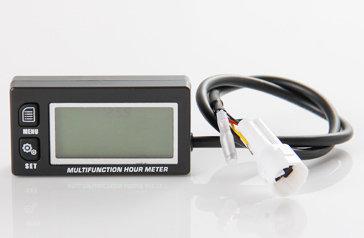 Multifunkční měřič motohodin a otáček