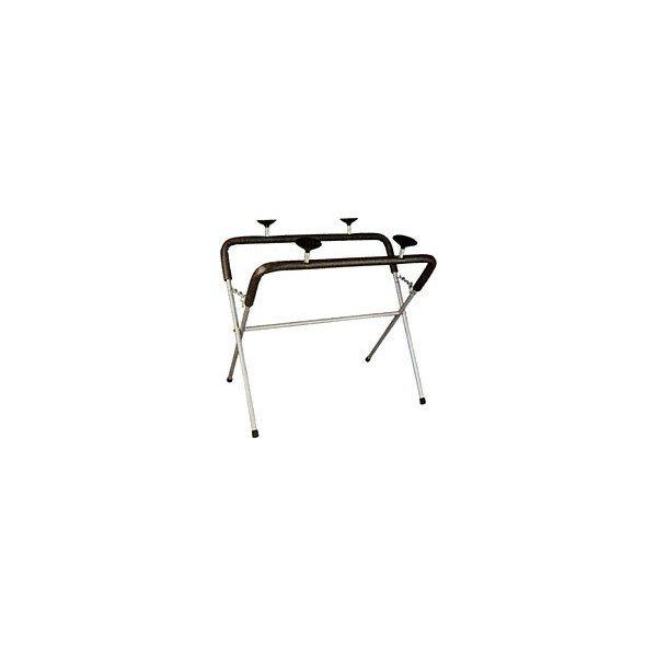 Skládací stojan pro odkládání čelních skel s přísavkami a ochranným návlekem