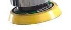 Nosný kotouč pro brusné elementy se suchým zipem z vinylu 50,8 mm
