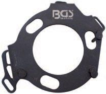Aretace ozubené řemenice a vysokotlaké pumpy Opel, Renault, Nissan - BGS 8278