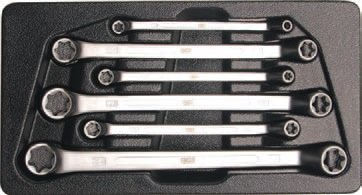 Klíče očkové vyhnuté (trháky) pro E-profil E6-E24 - BGS 2281