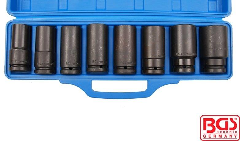 "Hlavice 3/4"" nástrčné prodloužené tvrzené 22-38mm CrMo - BGS 5241"