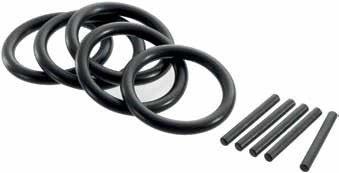 """Sada 3/4"""" jistících kolíčků a o-kroužků pro průmyslové hlavice 17-50 mm - Tona"""