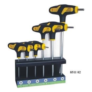 Sada zástrčných klíčů imbus H2-H6 6-dílná ve stojánku- Narex Bystřice 851102