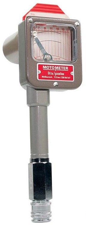 Registrační kompresiometr pro zážehové motory (3,5-17,5 bar) MotoMeter Otto