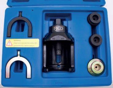 Přípravek pro montáž a demontáž nosných kulových čepů VW T4