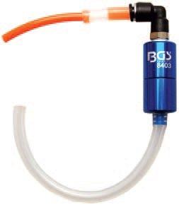 Ventil odvzdušňovací pro brzdy a spojku - BGS 8403