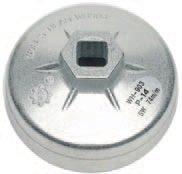 Hlavice na povolování olejových filtrů 74 mm 14-ti hranný - BGS 1041