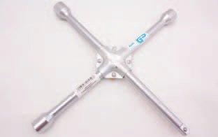 """Klíč křížový na kola nákladních aut 24, 27, 32mm a 3/4""""; zesílený střed BGS 1457"""