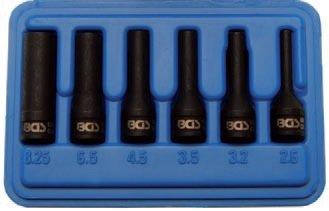 Hlavice nástrčné pro demontáž elektrody žhavící svíčky 2,6 - 8,25 mm - BGS 5290