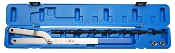 Klíč stavitelný s výměnnými čelistmi pro podržení řemenic - BGS