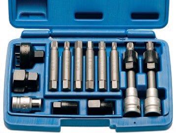 Hlavice na volnoběžky alternátorů 12ks - BGS 4246