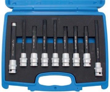Hlavice zástrčné pro šrouby hlav motorů Ribe/Imbus/Torx/E-profil - BGS 5014